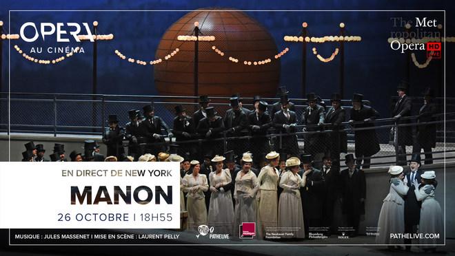 OPERA - retransmission en direct du Metropolitan de New-York