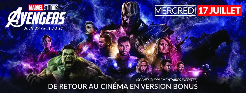 Avengers : End game - version bonus